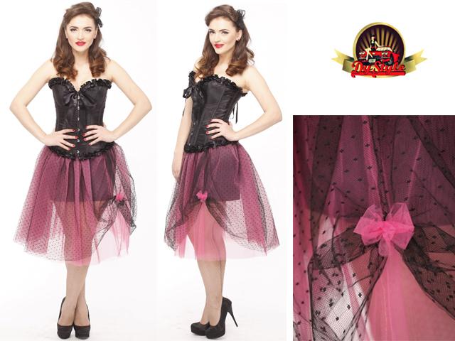 Pink&Black tutu