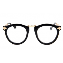 Unisex Retro Black Frames
