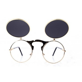 Steampunk Round Glasses