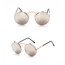 Steampunk Round Glasses