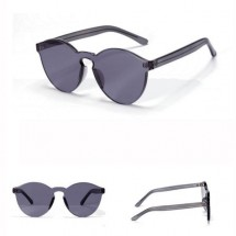 Vintage Unisex Sunglasses Gray