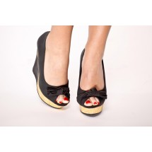 Black sweetness Pin Up shoes