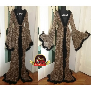 Boudoir Dots Dressing Gown