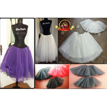 Mother daughter tulle skirts