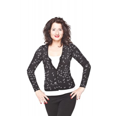Pin Up  'Anchor' Cardigan