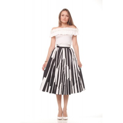 Psychedelic Stripes and Tulle