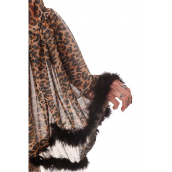 Leopard Dressing Gown